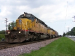 UP 3025 at Elmhurst, Illinois